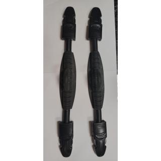 Sangles de palmes réglables à RESSORT Remplace vos boucles habituelles Compatible avec la plupart des palmes réglables. Distance entre œillets 36cm
